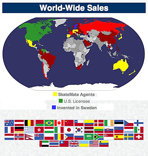WORLD WIDE SKATEMATE SALES